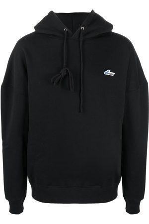 We11 Done Dropped shoulder hoodie