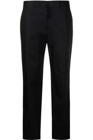 Jil Sander Women Pants - Straight-leg cotton trousers