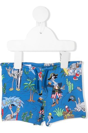 Stella McCartney Flamingo Land swim shorts