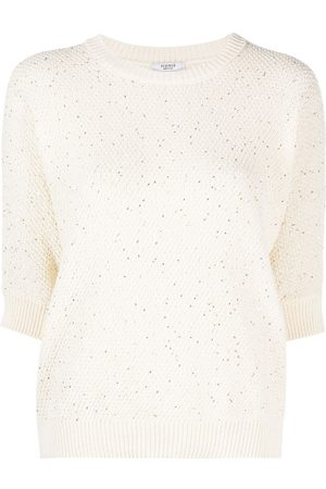 PESERICO SIGN Sequin-embellished sweater