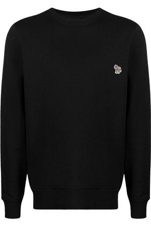 Paul Smith Men Sweatshirts - Zebra embroidered logo sweatshirt