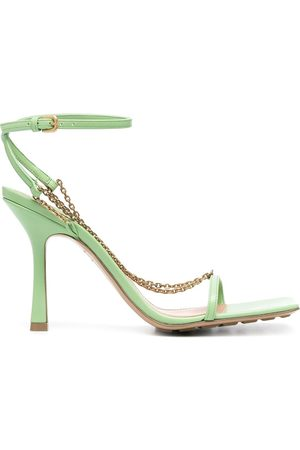 Bottega Veneta Stretch chain-detail sandals