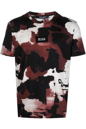 Dolce & Gabbana Camouflage print cotton T-shirt