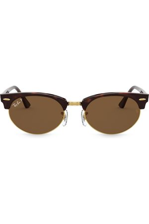 Ray-Ban Clubmaster oval sunglasses