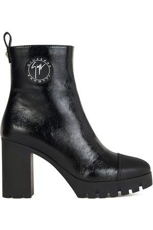 Giuseppe Zanotti Side-logo plaque boots