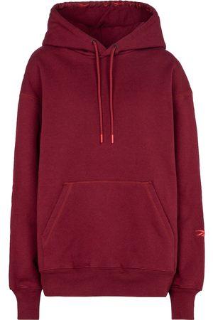 Reebok Logo cotton-jersey hoodie