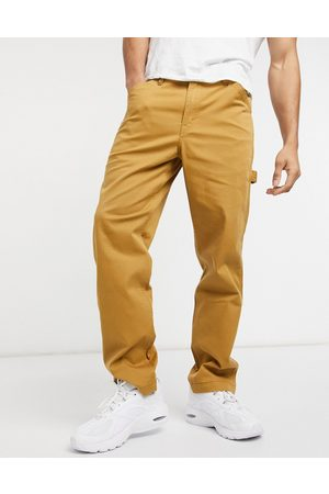 Levi's Youth tapered fit carpenter pants in medal bronze tan
