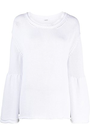 P.a.r.o.s.h. Women Sweaters - Flared-sleeve jumper