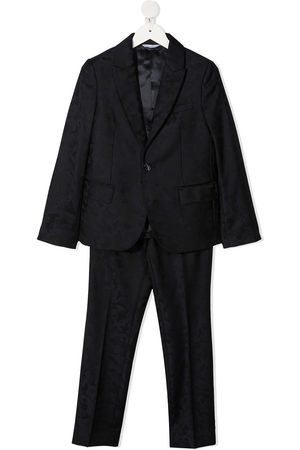 Dolce & Gabbana Single-breasted jacquard two-piece suit
