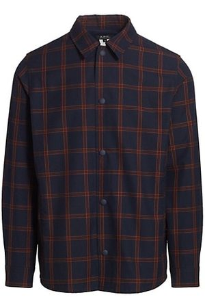 A.P.C. Rodney Technical Check Overshirt