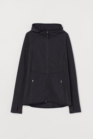 H&M Women Outdoor Jackets - Zip Up Hooded Sports Jacket