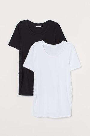 H&M Women Short Sleeve - MAMA 2-pack Jersey Tees