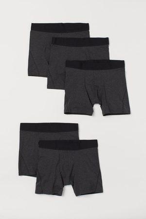H&M Men Briefs - 5-pack Mid Boxer Briefs