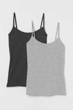H&M 2-pack Jersey Camis