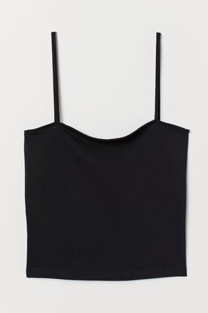 H&M Cropped Jersey Cami