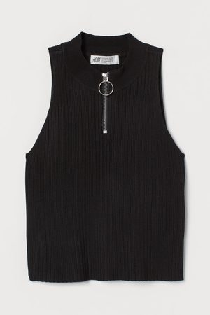 H&M Girls Tank Tops - Rib Top