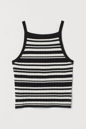 H&M Girls Cami Tops - Rib Knit Cami