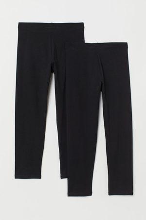 H&M 2-pack 3/4 Length Leggings
