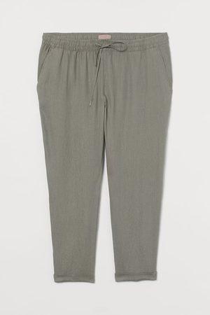 H&M + Pull On Linen Pants