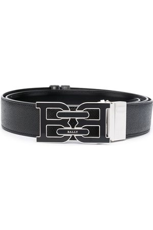 Bally B-Chain buckled leather belt