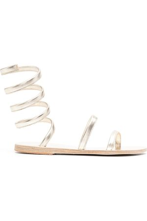 Ancient Greek Sandals Women Sandals - Ofis ankle-wrap sandals