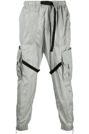 OFF-WHITE Men Cargo Pants - Elasticated-waist cargo pants