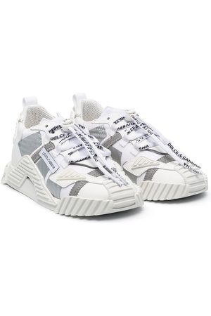 Dolce & Gabbana Two-tone chunky sneakers
