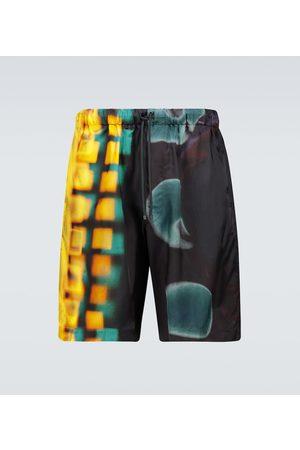 DRIES VAN NOTEN Men Board Shorts - Printed swim shorts