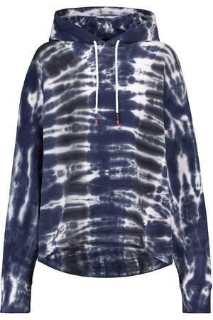 Tory Sport Tie-dye cotton hoodie
