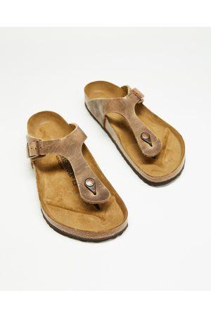 Birkenstock Sandals - Gizeh Unizex - Casual Shoes (Tabacco) Gizeh - Unizex