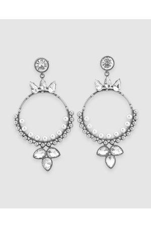 Peter Lang Women Earrings - Belinda Earrings - Jewellery (Crystal, Pearl & ) Belinda Earrings