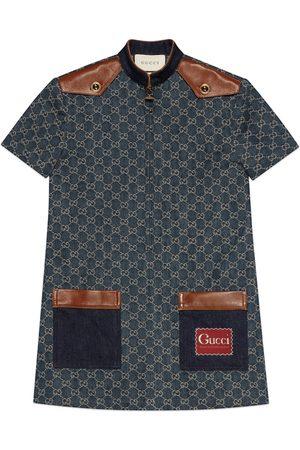 Gucci Eco washed organic denim dress