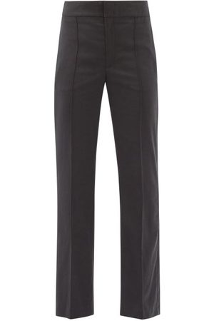 Isabel Marant Sorokia High-rise Crepe Trousers - Womens