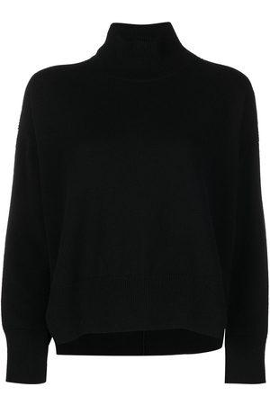 Barrie Roll neck cashmere jumper