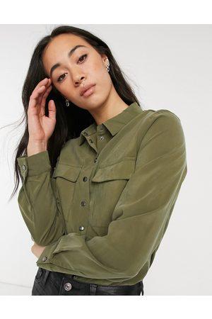 Vila Shirt body in green