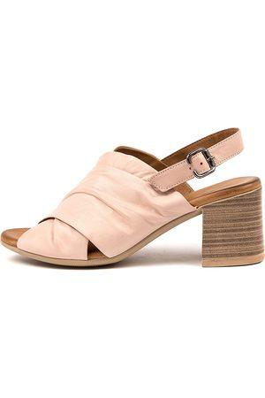 Diana Ferrari Wilta Df Nude Sandals Womens Shoes Dress Heeled Sandals