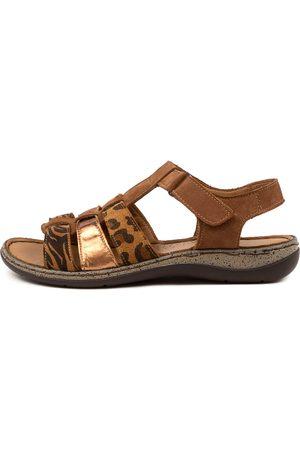 Colorado Denim Martie Cf Cognac Sandals Womens Shoes Heeled Sandals