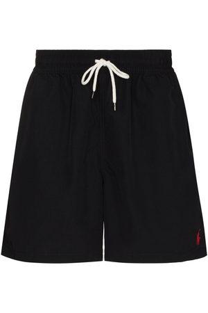 Polo Ralph Lauren Men Board Shorts - Logo embroidered swim shorts