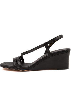 Django & Juliette Lucy Dj Sandals Womens Shoes Casual Heeled Sandals