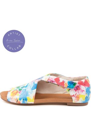 Django & Juliette Jakob Dj Sunset Sandals Womens Shoes Casual Sandals Flat Sandals