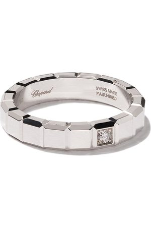 Chopard 18kt white gold Ice Cube diamond ring