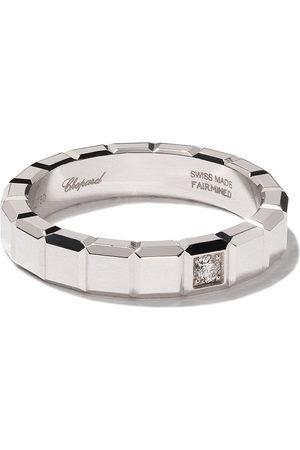 Chopard Women Rings - 18kt white gold Ice Cube diamond ring