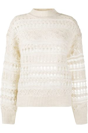 Isabel Marant Women Sweaters - Pernille open knit jumper
