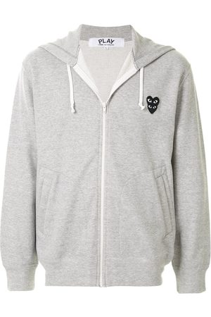 Comme des Garçons Men Hoodies - Logo patch hoodie
