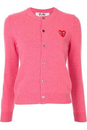 Comme des Garçons Women Cardigans - Logo-embellished cardigan