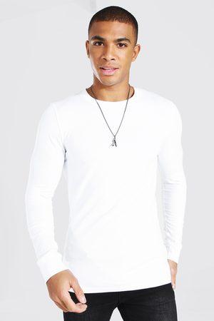 Boohoo Men Long Sleeve - Mens Muscle Fit Long Sleeve T-Shirt
