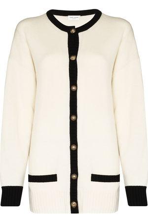 Saint Laurent Button-up cashmere cardigan