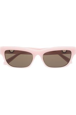 Linda Farrow X Paco Rabanne Lola rectangular frame sunglasses