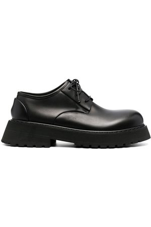MARSÈLL Lace-up leather derby shoes