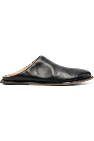 MARSÈLL Men Mules - Round-toe leather mules